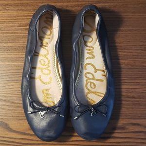 Sam Edelman Navy Blue Ballet Flats